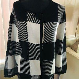 Alfani Sweater coat